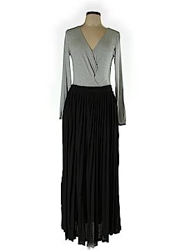 Bordeaux Casual Dress Size L