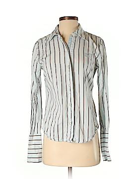 Hilfiger Denim Long Sleeve Button-Down Shirt Size XS