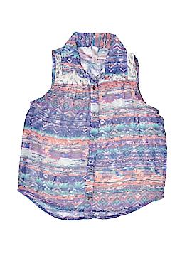 Xhilliesx Sleeveless Blouse Size 7 - 8