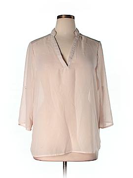 Ali & Kris 3/4 Sleeve Blouse Size 1X (Plus)