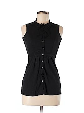 Generra Sleeveless Button-Down Shirt Size XS