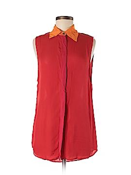 Kimberly Taylor Sleeveless Silk Top Size M