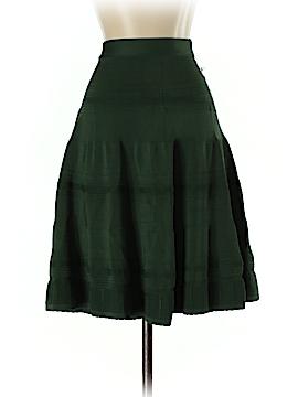 Pink Tartan Casual Skirt Size S