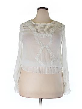 S. Line Long Sleeve Blouse Size L