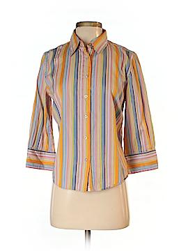 Robert Graham 3/4 Sleeve Button-Down Shirt Size M