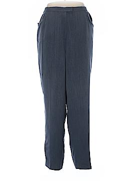Rena Rowan Silk Pants Size 18W (Plus)