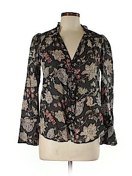 Umgee Long Sleeve Button-Down Shirt Size S