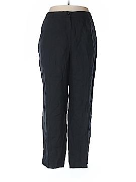 Jones New York Linen Pants Size 18W (Plus)