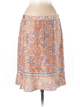Sigrid Olsen Silk Skirt Size 8