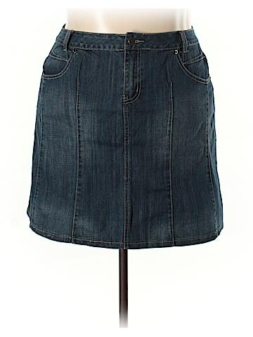 L.A. Blues Denim Skirt Size 16