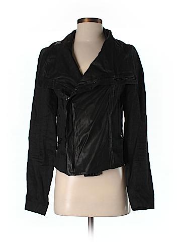 Vince. Faux Leather Jacket Size M