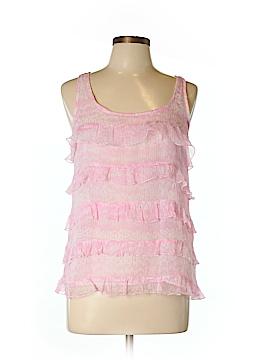 Cynthia Rowley for T.J. Maxx Sleeveless Silk Top Size M