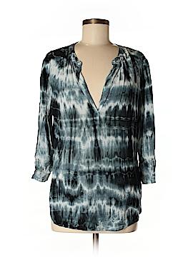 Velvet 3/4 Sleeve Blouse Size S