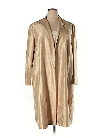 Lafayette 148 New York Silk Blazer Size XL
