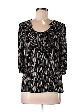 Tory Burch 3/4 Sleeve Silk Top Size 8