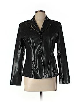 Kookai Faux Leather Jacket Size Lg (3)