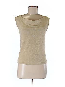 Versailles Sleeveless Silk Top Size S