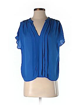 La Fee Verte Short Sleeve Silk Top Size XS