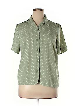 Koret Short Sleeve Button-Down Shirt Size 14