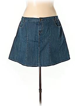 L.A. Blues Denim Skirt Size 20W (Plus)
