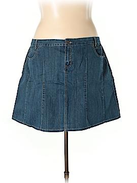 L.A. Blues Denim Skirt Size 22W (Plus)