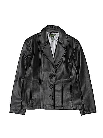 Mountain Lake Faux Leather Jacket Size S (Petite)