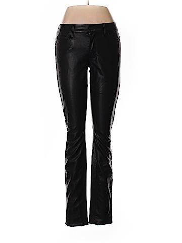 Freja + Mother Faux Leather Pants 28 Waist