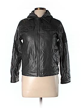 Hawke & Co. Faux Leather Jacket Size L
