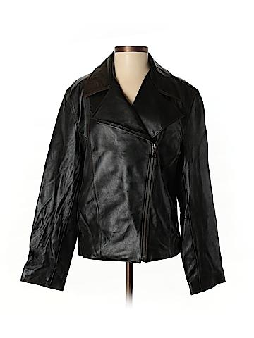 Tiboa Leather Jacket Size S
