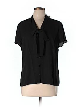 Notations Short Sleeve Blouse Size XL (Petite)
