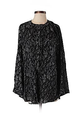 En Creme Long Sleeve Blouse Size S
