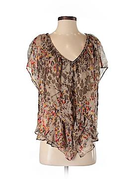 Postella Short Sleeve Silk Top Size S