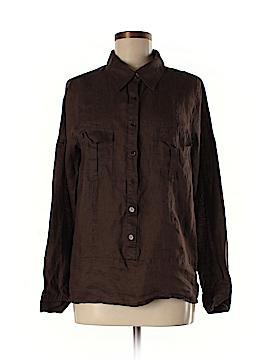 Karen by Karen Kane Long Sleeve Button-Down Shirt Size M