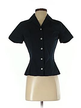 D&G Dolce & Gabbana Short Sleeve Button-Down Shirt Size XS