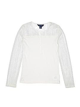 Ralph Lauren Long Sleeve Henley Size L (Youth)