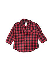 Carter's Boys Long Sleeve Button-Down Shirt Size 6 mo