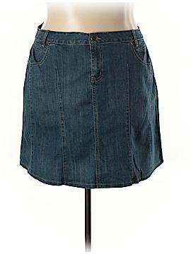 L.A. Blues Denim Skirt Size 18 (Plus)