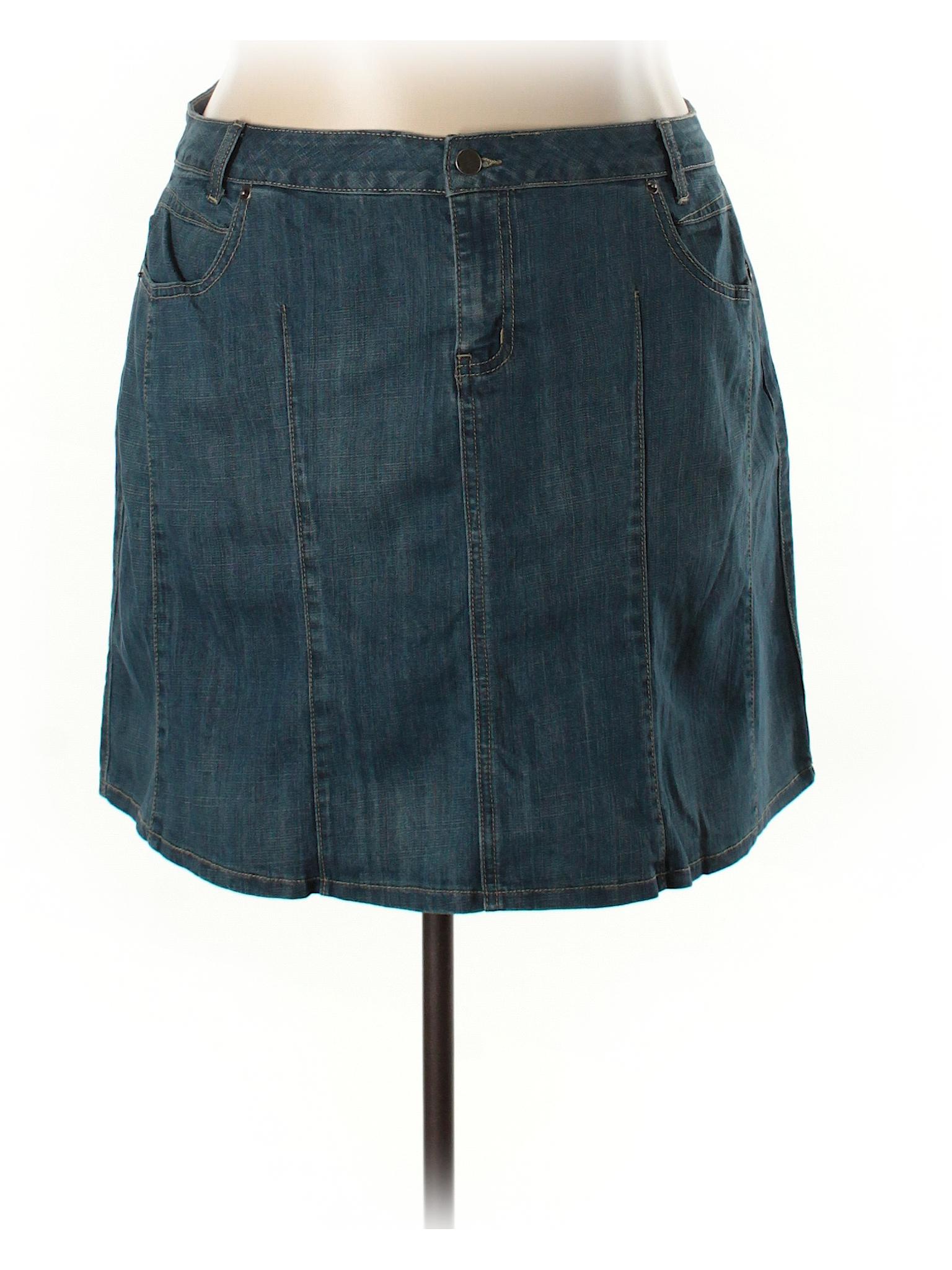 L a Skirt Blues Boutique Denim HTnqY1W