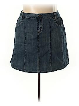 L.A. Blues Denim Skirt Size 20 (Plus)
