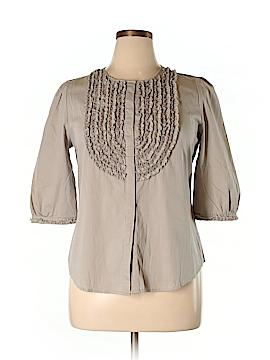 BCBGMAXAZRIA 3/4 Sleeve Button-Down Shirt Size XL