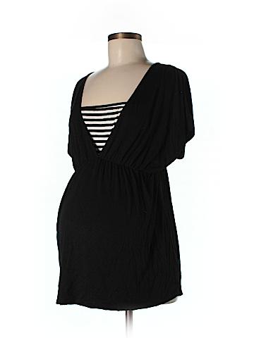 Maternal America Short Sleeve Top Size L (Maternity)