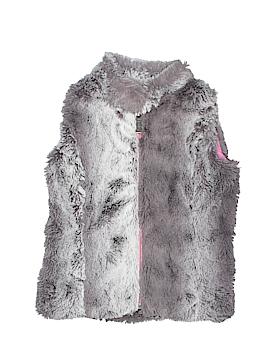 Hatley Faux Fur Vest Size 3