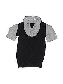 Aqua Pullover Sweater Size X-Small (Kids)