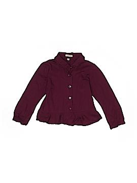 Burberry Long Sleeve Button-Down Shirt Size 24-36