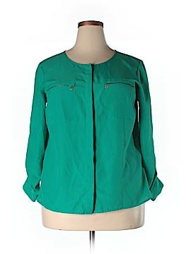 Anne Klein Long Sleeve Blouse Size 0X (Plus)
