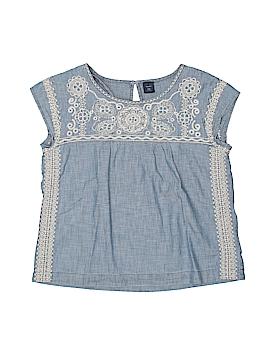 Gap Kids Short Sleeve Blouse Size 20