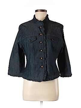 Sandro Denim Jacket Size L (Petite)