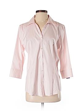 Eddie Bauer 3/4 Sleeve Button-Down Shirt Size 7