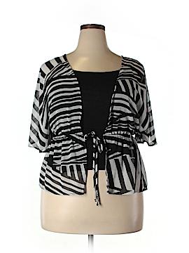 BCX Short Sleeve Blouse Size XL
