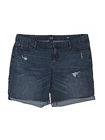 A.n.a. A New Approach Denim Shorts Size 18 (Plus)